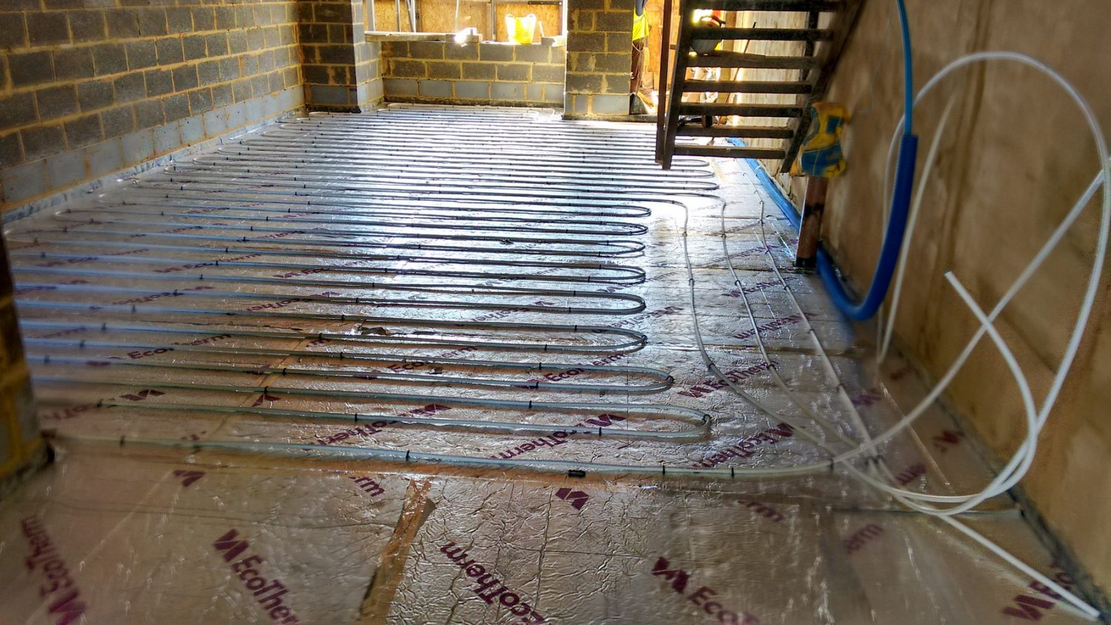 Wet Underfloor Heating Mj Build And Management Ltd